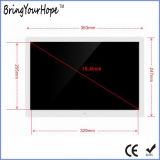 15.4 Zoll-Digital-Foto-Rahmen im neuen Entwurf (XH-DPF-150C)