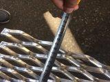 Testemunho de furo pequeno galvanizado malha de metal expandido