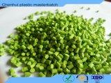 Colore verde Masterbatch della materia prima del Virgin del LDPE del grado della pellicola