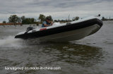 Liya 14FT Rettungs-Rippen-Boots-steifes aufblasbares Boot Hypalon Schlauchboot