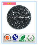 Alto negro Conten Masterbatch del pigmento de PP/PE/ABS para cubrir con pajote uso de la película