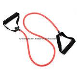 Premium 4 rouge des moyen de la bande de résistance de l'exercice de la tension 12lbs