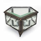 Contenitore di monili di vetro del regalo dell'imballaggio di ultimo disegno