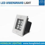 Indicatore luminoso esterno del prato inglese di alto potere sotterraneo LED del giardino 5W