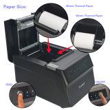 POS de Thermische Printer van het Ontvangstbewijs met Autocutter Steun zowel 80mm als 58mm