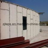 Estructura de acero de materiales de construcción sándwich EPS el panel de pared para el edificio de varios pisos