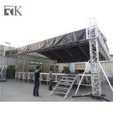 Im Freien bewegliche Aluminiumgroßhandelsstadien mit Binder und Kabinendach