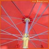 昇進の傘を広告するビーチパラソルの昇進浜の日曜日パラソルの広告