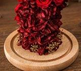 Цветок Rose купола горячего сбывания вечный стеклянный сохранил подарки венчания на день ветеранов
