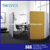 事務所の区分のための最もよい品質のポリエステル線維の装飾的な音響パネル