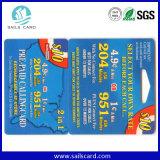 Cartões sem contato da exposição de 1k S50 com furo de perfurador