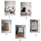 Mini éclairage principal mobile compact 19*15W de lavage d'étape de DEL