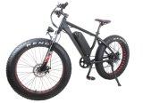 """26 """" 48V 750W 4 """" 넓은 뚱뚱한 타이어 전기 자전거"""