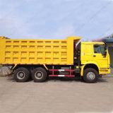 Sinotruk HOWO 6X4 Kipper-Gelb-Lastkraftwagen mit Kippvorrichtung für Verkauf