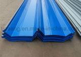 заводская цена высокое качество PPGI трапециевидный железной крышей в мастерской