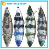 Ryのプラスチックカヌーの単一の海洋釣カヤックの漕艇(M02)