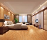 Azulejo de madera de la textura del color negro 150*800