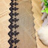 Lacet suisse de garniture de broderie de lacet pour des vêtements et des textiles à la maison