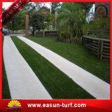 hierba artificial del césped sintetizado de la altura de 35m m para el jardín