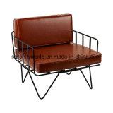 Ereignis-Möbel-Haarnadel-Metalldraht-im Freienhochzeits-Stuhl mit Kissen