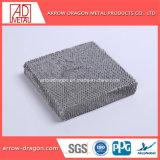 3003 ячеистой алюминиевой конструкции для охлаждения воздуха в текстильного оборудования