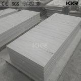 Surface solide acrylique de Staron de pierre blanche en pierre artificielle de résine