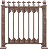 Rete fissa di recinzione di alluminio esterna di /Courtyard/rete fissa decorativa della parte anteriore del metallo