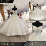 100% реальные фото заказ роскошных off-плечевой свадебные платья