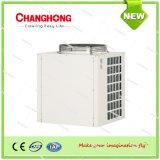 O ar refrigerou o condicionador de ar de unidade rachado canalizado