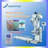 Les deux vis de dosage de poudre de la machine de remplissage de bouteilles dans les sacs ou de fabrication (JAS-100)