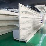 De gecombineerde Gondel van de Supermarkt van de Plank van de Vertoning van de Supermarkt/de Geperforeerde AchterPlank van het Comité met Kast en Haken