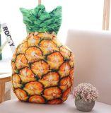 Giocattoli realistici della peluche della frutta e della verdura dell'ananas di Kawaii