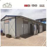 EPS panneau sandwich de ciment Structure légère en acier Maisons préfabriquées