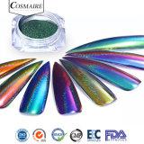 Espelhos Colorshift holográfico Pavões efeitos pregos em pó
