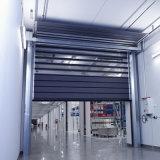 Автоматическая алюминиевая трудная высокоскоростная быстро дверь штарки завальцовки