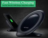 Qi WPC fasten das Telefon, das drahtlose Aufladeeinheit für Samsung S8 plus auflädt
