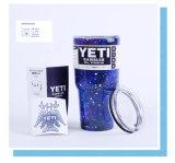 Nam Wandelaar van de Tuimelschakelaar van de Koffie van het Voertuig van de Yeti de Koelere Vacuüm Geïsoleerdee toe