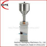 Llenador neumático líquido de la máquina de rellenar de la goma vertical de la botella de agua