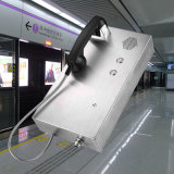 地下鉄のKntechからの非常電話Knzd-35 GSMの無線通話装置