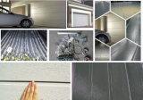 Дверь гаража алюминиевого сплава зерна автоматического ролика деревянная