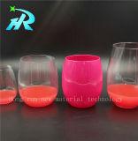 vidro de vinho de vidro bonito do animal de estimação 10oz