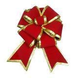 Kundenspezifischer Samt, metallisch, Organza-Feiertags-Dekorationen (1027)