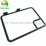 Kundenspezifisches Drucker-Platten-Teil mit CNC-Aluminium-maschinell bearbeitenverbiegendem Teil