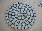 Fanshaped Ingeschakelde Cobble Steen voor de Betonmolen en de Tegel van het Landschap