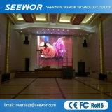 Prix favorable P4.81 intérieure HD plein écran à affichage LED de couleur avec module de 250*250mm