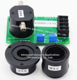 L'hydrogène sulfuré H2S Capteur du détecteur de gaz de 500 ppm de contrôle environnemental des gaz toxiques Miniature électrochimique