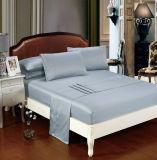 El lujo 100% seda suave piel conjunto de ropa de cama de alta calidad