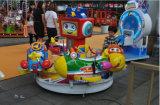 新しいデザイン航空機の遊園地のゲーム・マシンの工場4プレーヤーを回す熱い子供の乗車