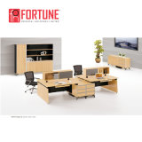 현대 Wood 3 Person Office Workstation 또는 Office Furniture Modular (FOH-SF-E1614)