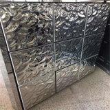 壁システムのための槌で打たれた金属板のステンレス鋼シートのクラッディング